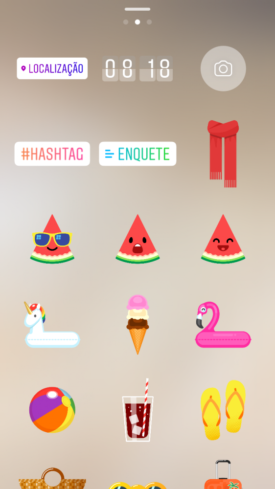 Instagram Stories: O uso de hashtags